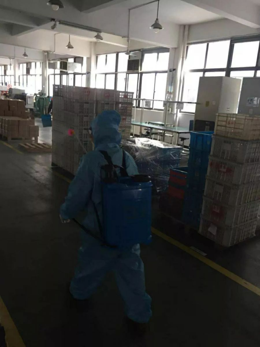 Workshop disinfection