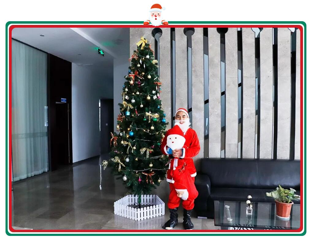 Santa Claus is Ready to Send Gifts