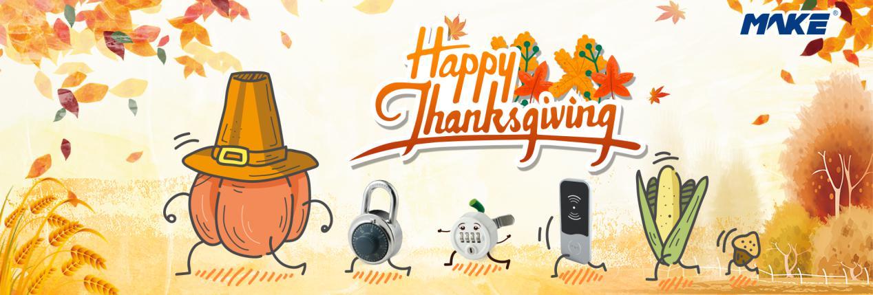 Makelocks Celebrates Thanksgiving | Say Thank you