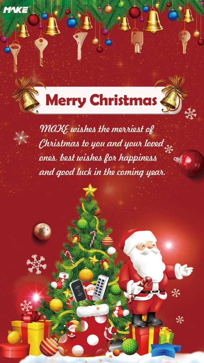 Merry Christmas - MAKE wishes you the merriest of Christmases