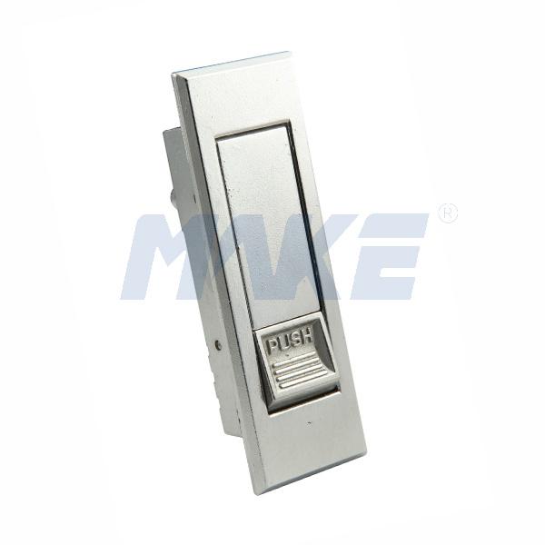 Tool Box Lock MK403, Zinc Alloy Gray Chrome, Nickel Plated
