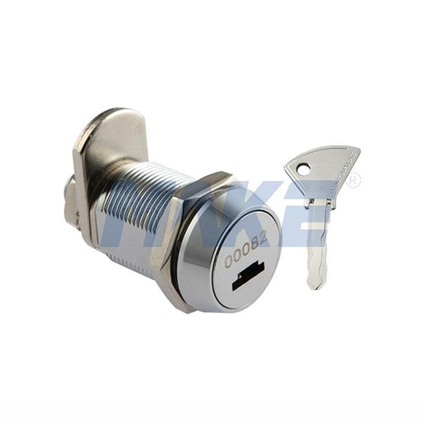 Cash Box Lock M1, Zinc Alloy, Bright Chrome