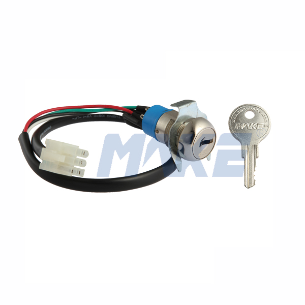Zinc Alloy Key Switch Lock MK104-5