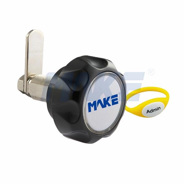Zinc Alloy & ABS RFID Cam Lock for Locker MK726, Keyless