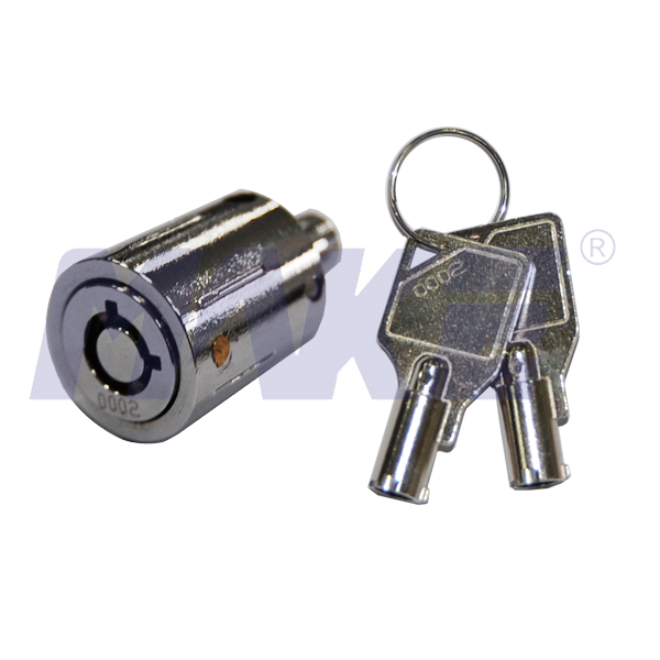 Zinc Alloy, Brass Push Lock MK506-2
