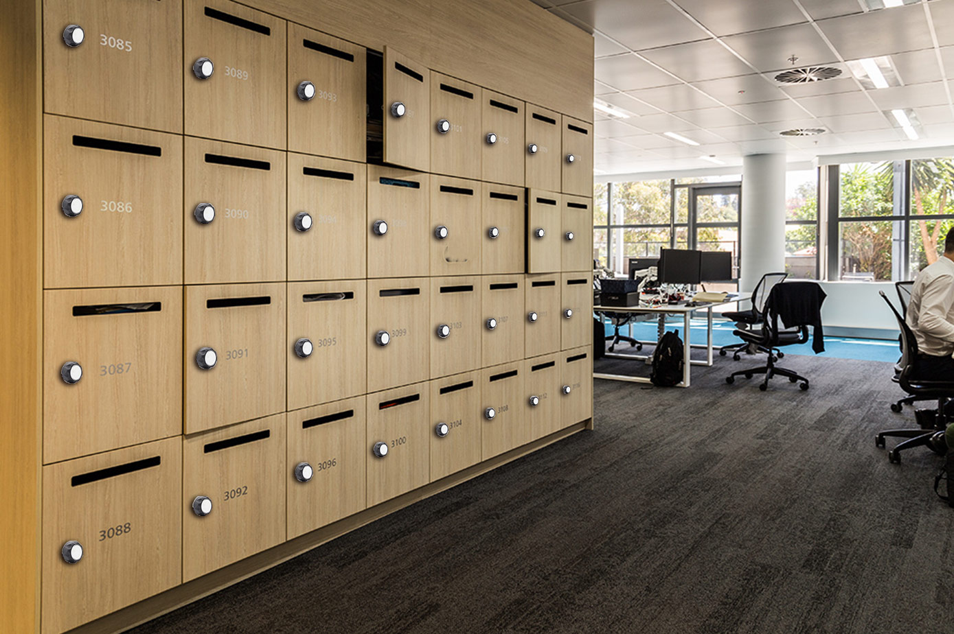 Make office furniture locks light up your office life