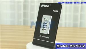 Combination Locker Lock MK707-2 Video