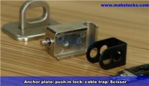 Keyed Computer Lock Kit MK800 Video