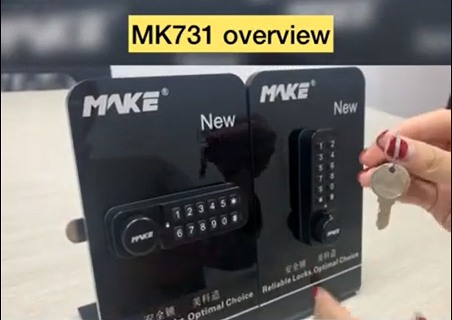 MK731 Locker Lock Operating Instruction