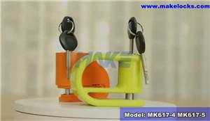 Motorcycle Padlock MK617-4 & MK617-5 Video