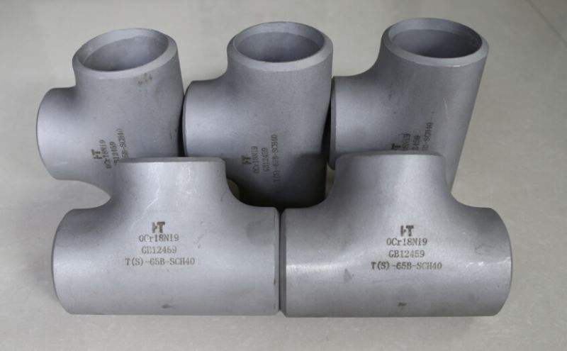 The classification and application of stainless steel tees