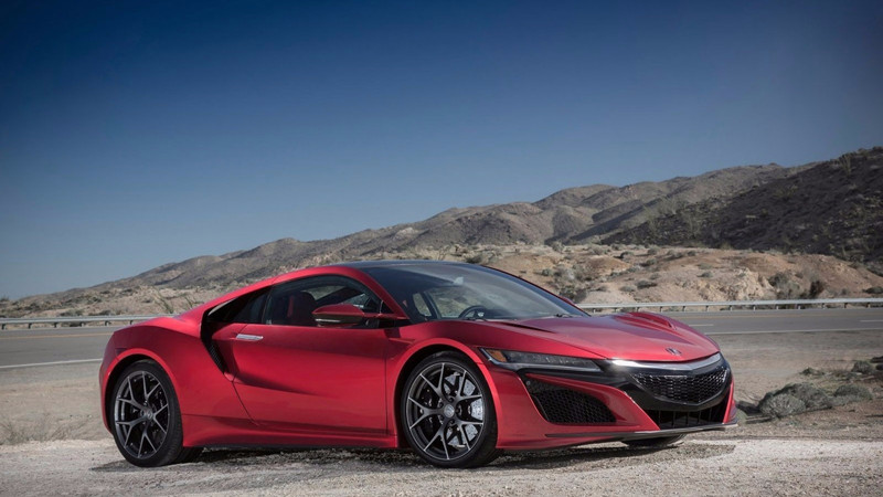 the NSX sports car