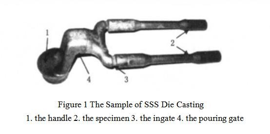 The Sample of SSS Die Casting