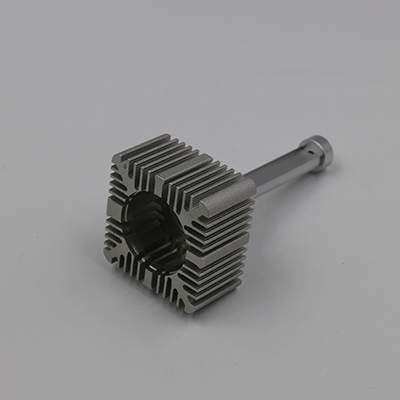 Aluminum Alloy 6061 LED Headlight Heat Sink CNC Machining