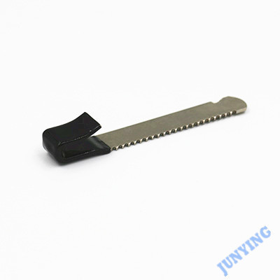 Showcase Lock Part, Carbon Steel Stamping, Nickel Plating