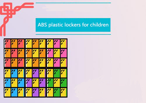 What kind of material for plastic lockers is more suitable for children?