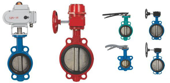 plumbing in structure the structure and performance of four kinds of butterfly valves