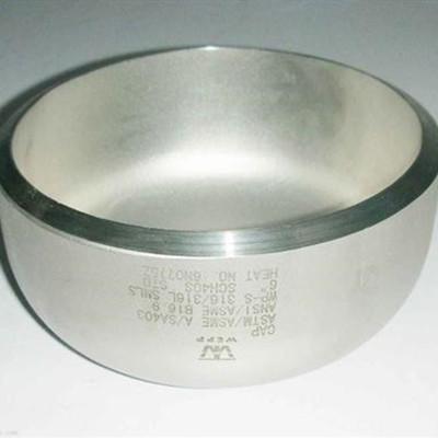 CAP 10S BW SEAMLESS MAT ASTM A403 WP 316L ASME B16.9 8 inch