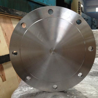 Flange Pipe Blind 6In SS ASTM A182 F904L CL 150 Raised Face