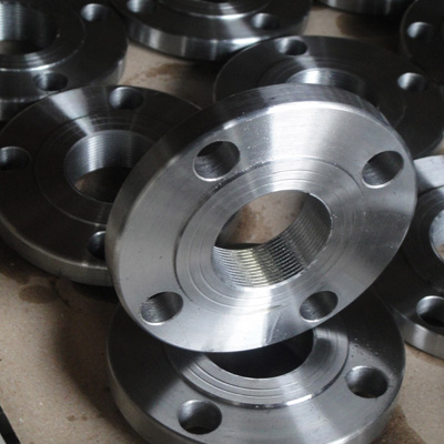 2In Threaded Flange Raised face NPT Threaded Class 150 ANSI B 16.5 ASTM A 105 N Galvanised