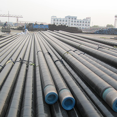 3LPE Coated Pipe 6 Inch SCH80 Seamless Carbon Steel API 5L GR B Beveled End 3 Layers Polyethylene Wrapped