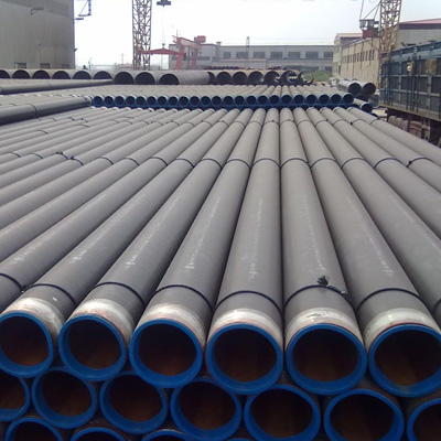 4In Dia x 0.237In WT API 5L Grade X42 ERW Steel Line Pipe 3 Layer PE Coated DIN 30670