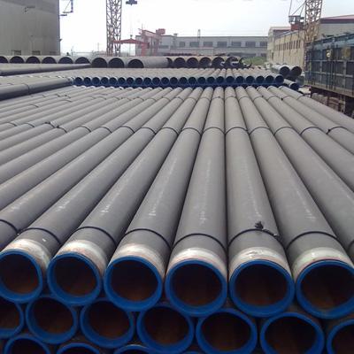 4In Dia x 0.237In WT API 5L Grade X42 ERW Steel Line Pipe 3 Layer PE Coated DIN 30670