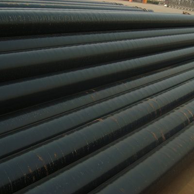 Pipe Oil Line 10Inch 273 x 9.3mm API 5L GR.B SCH40 Fixed length 12 meters Beveled Ends 3PE
