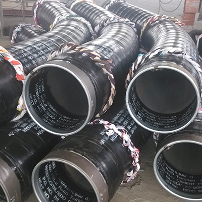 5D Bends 12 Inch 90 Degree API 5L X-52 Carbon Steel SMLS Sch 60 with 3-Layer PE Coating