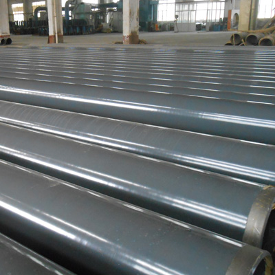 DN 400 mm CS Pipe SCH40 API 5L X52 Fusion Bonded Epoxy Coating AWWA C203 Dry Film Thickness of 275 Microns