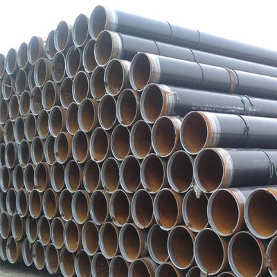 ERW Pipe API 5L Gr.B PSL2 SCH40 3Layer Polyethylene Thickness 2 mm Long Seam Diameter 4In Length 12.000MM