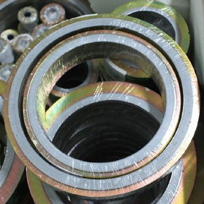 6In Gasket 600LBS RF Spiral Wound Graphite Filler 316L SS Winding ASEM B16.20