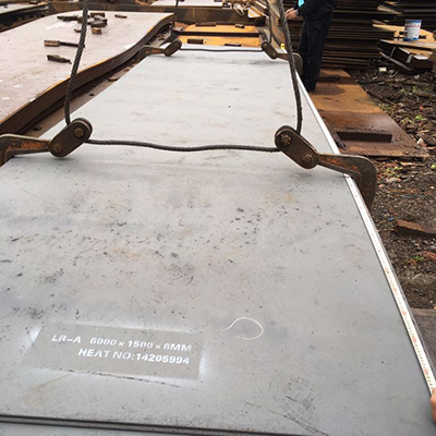 MS Plates LR-A 6000 X 1500 X 6 mm for Ship Building