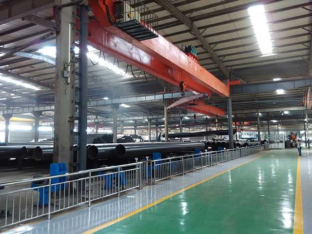 Electric Resistance Welding Steel Pipe Workshop