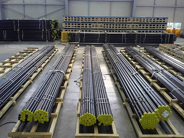 Seamless Steel Pipe Stock