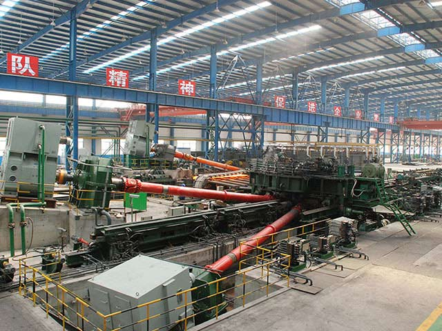 Sprial Welding Steel Pipe Production