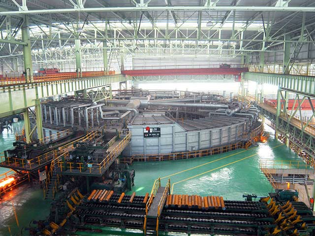 Steel Pipe Production Workshoop