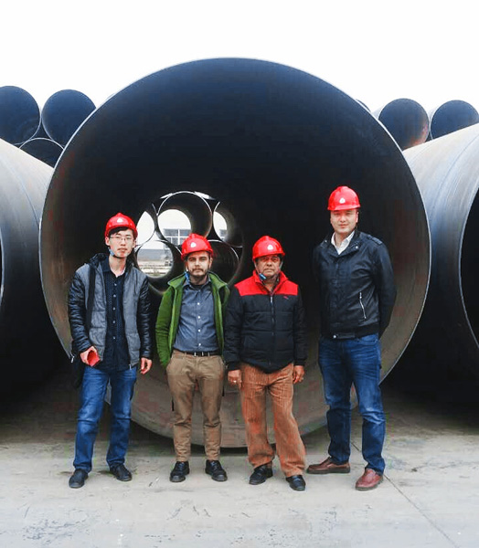 Clients from Mountain Hydro Nepal Visited Derbo Steel