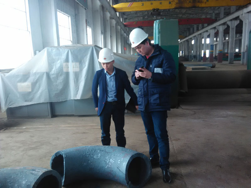 Lukoil Engineer Team Came for Production Supervision