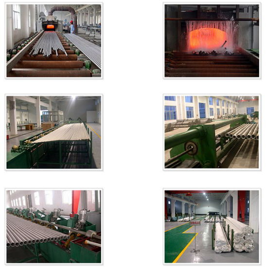 Stainless Steel Pipe Production Facility