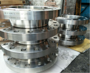 Derbo delivering concentric reducers & weld neck flanges to the Taiwai customer