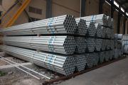 Derbo Steel delivered DN15-40 Galvanized Seamless Steel Pipes to India