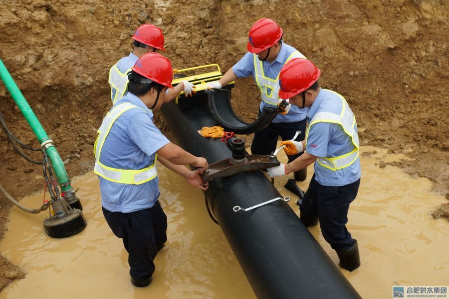 Ductile Iron Pipes for City Water Supply Network System