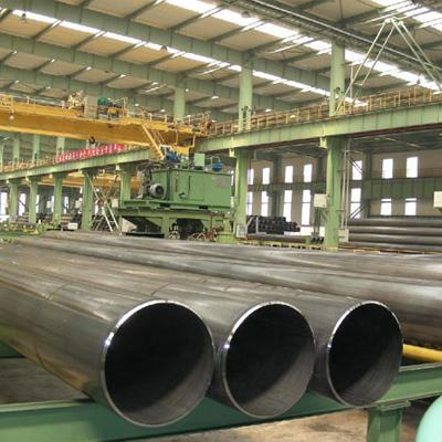 What is a welded steel pipe?