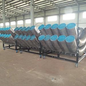 Carbon Steel 45D Bend, ASTM A234, 6 Inch, SCH 40, 20D