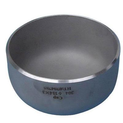 A815 S32750 BW Stainless Steel Cap 6 Inch Cold Drawn