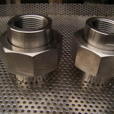 A105 FNPT Union Forged ASME B16.11 4 Inch Class 2000