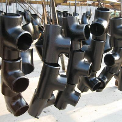 ASME B16.9 Equal Tee ASTM A234 WPB 8 Inch SCH 40 Galvanized