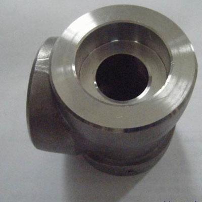 ASTM A105 Tee ASME B16.11 Forged 1 Inch X 1 Inch 3000LB SW