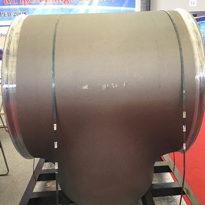 ASTM A403 WP321 Stainless Steel Equal Tee 10IN SCH 160